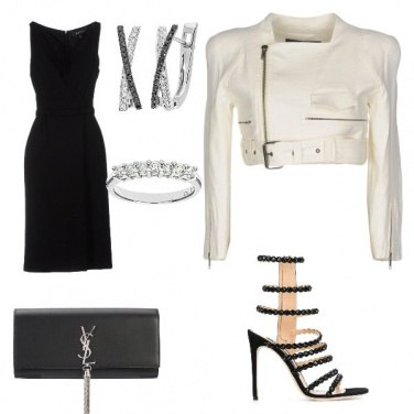 Outfit Chic and rock