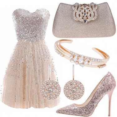 Outfit Color champagne