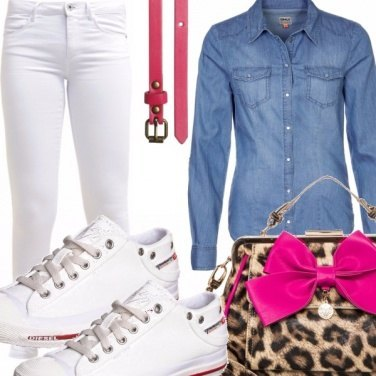 Outfit Pink bow