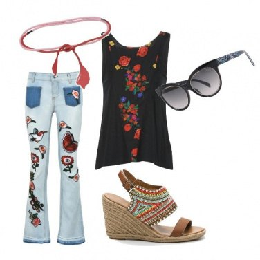 Outfit Etnico #1040