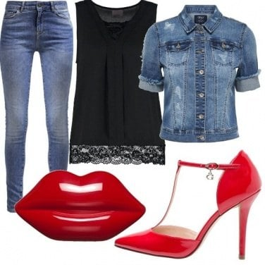 Outfit Cherry lips