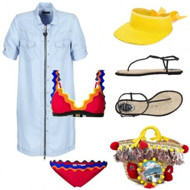 Outfit La visiera gialla