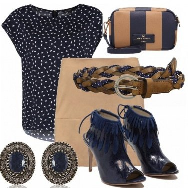 Outfit Night in blu