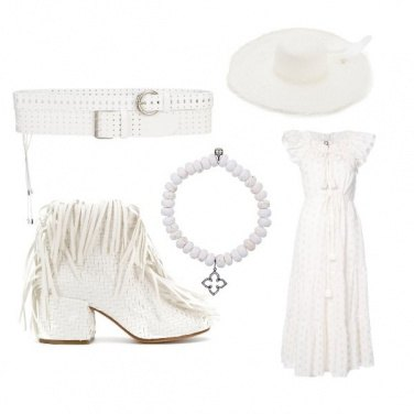 Outfit Total Romantic White