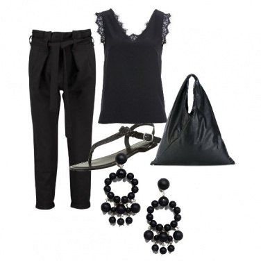 Outfit Giornata Total Black