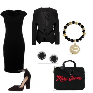 Outfit The woman in black
