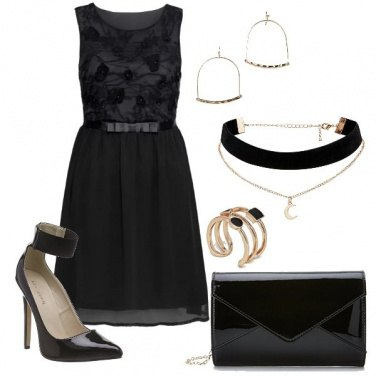 Outfit Black total