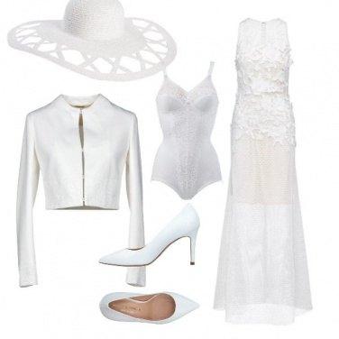 Outfit Pura come il bianco