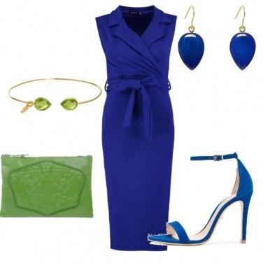 Outfit Prima comunione.... in blu