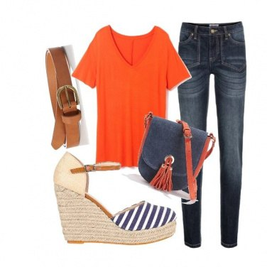 Outfit O. C. Jeans