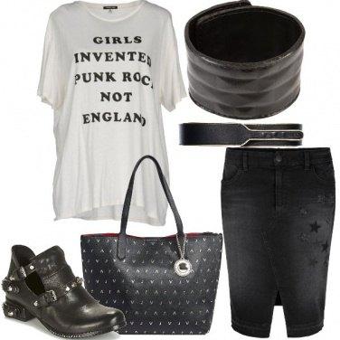 Outfit La gonna jeans
