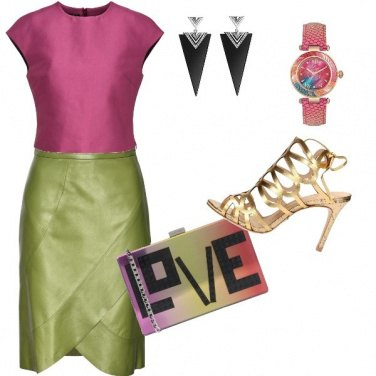 Outfit I Love Color!