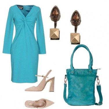 Outfit Tubino turchese