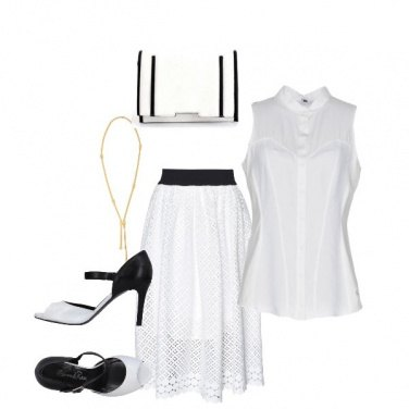 Outfit Donna in bianco