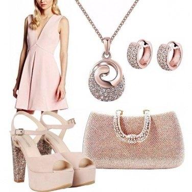 Outfit Rosa e luminoso