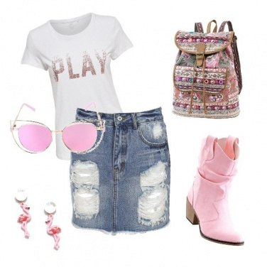 Outfit Always Pink