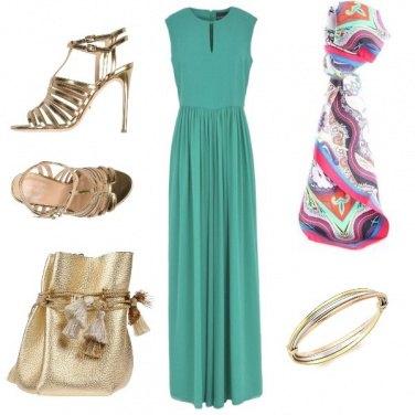 Outfit Serata Colorata