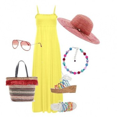 Outfit Passeggiata in spiaggia.... low cost.