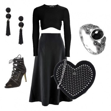 Outfit Glam Total Black