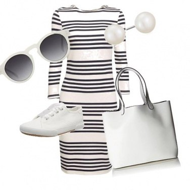 Outfit White style