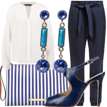 Outfit Estate in bianco