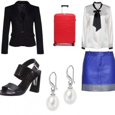 Outfit In viaggio con eleganza