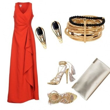 Outfit Red carpet