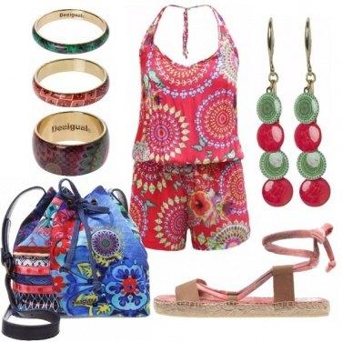Outfit Esageratamente hippie