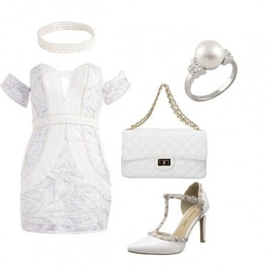 Outfit Look total branco