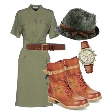 Outfit Croccodail dandy