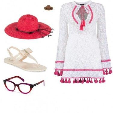 Outfit Il cappello rosso