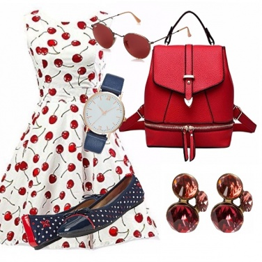 Outfit Urban cherry