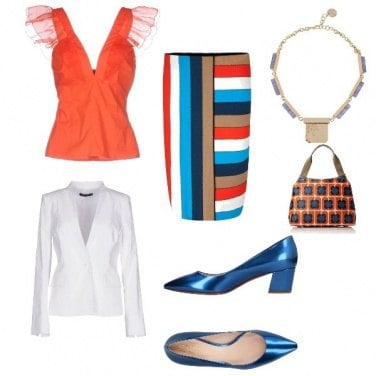 Outfit Assymetrical Style