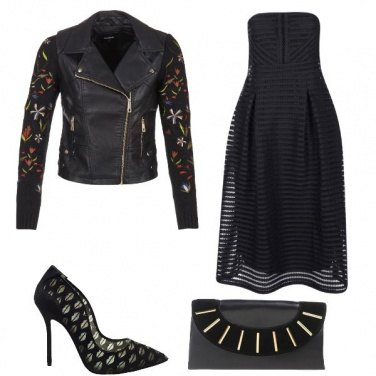 Outfit Dark black woman