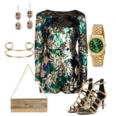Outfit È tutto oro quello che luccica