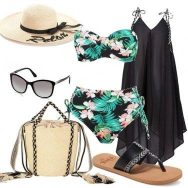 Outfit Eleganza al mare