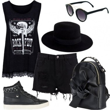 Outfit Festival rock