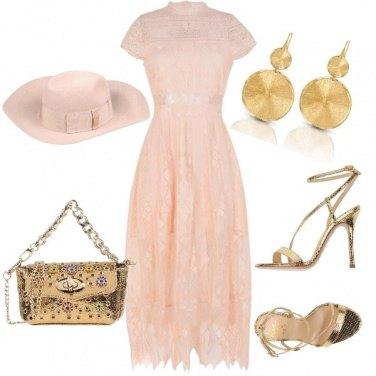 Outfit Cerimonia con cappello