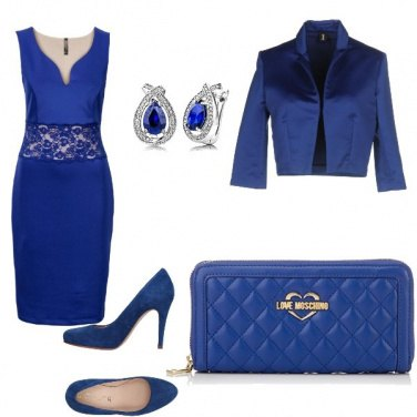 Outfit Protagonista il blue