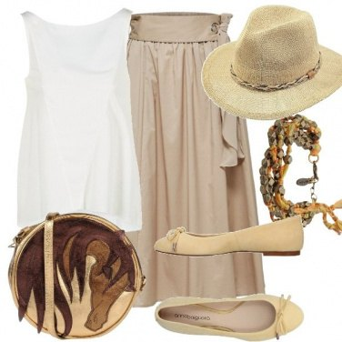 Outfit Safari glam