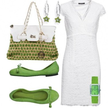 Outfit Glam green