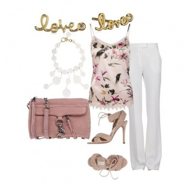 Outfit Pink chic