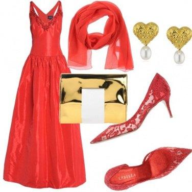 Outfit Rosso da Red Carpet