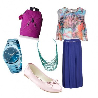 Outfit Blucoral
