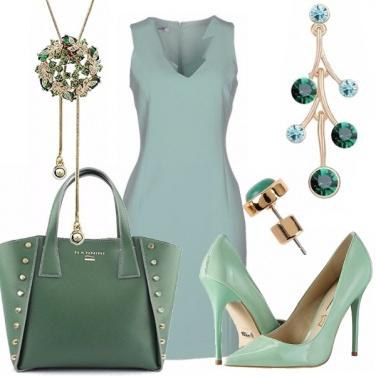 Outfit Semplicemente verde