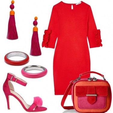 Outfit Colorful e gioielli abbinati