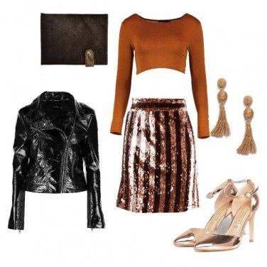Outfit Serata glitter