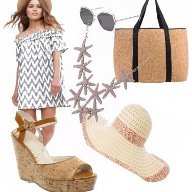 Outfit Tipe da spiaggia
