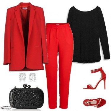 Outfit Il red per il red carpet