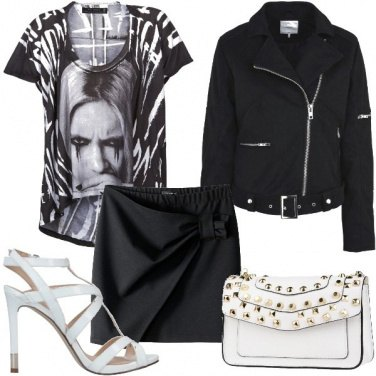 Outfit Rock con i tacchi